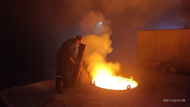 Industrial Frequency Induction Furnace